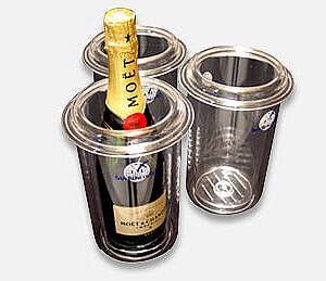 Champagne wijn koeler huren