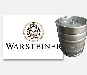 Warsteiner bierfust huren