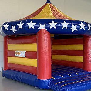 springkussen circus huren feestjecompleet